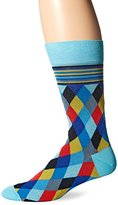 Bugatchi Men's Diamonds Forever Fancy Sock
