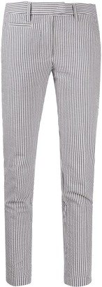 Dondup Striped Slim-Fit Trousers