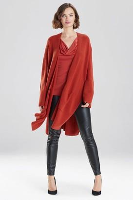 Natori Chunky Knit Sweater Cardigan