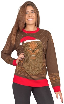 Ugly Sweater Company Ugly Christmas Sweater Star Wars Chewbacca Sweater