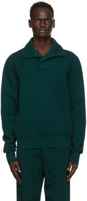LES TIEN Green Yacht Sweatshirt