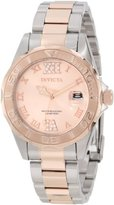 """Invicta Women's 12853 """"Pro Diver"""" Two-Tone Crystal-Accented Watch"""