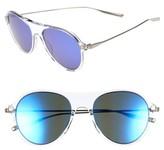 Salt Men's St. Hubbins 55Mm Polarized Sunglasses - Crystal / Tempest