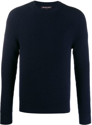 Michael Kors Slim-Fit Ribbed Jumper