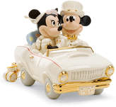Lenox Collectible Disney Figurine, Mickey Mouse and Friends Minnie's Dream Honeymoon