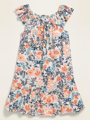 Old Navy Floral-Print Tiered-Hem Dress for Toddler Girls