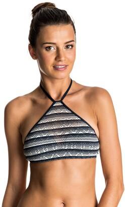 Roxy Women's Tribal Maze Cropped Bikini Top