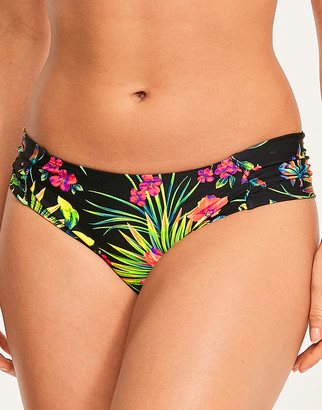 Panache Anya Print Gather Bikini Brief