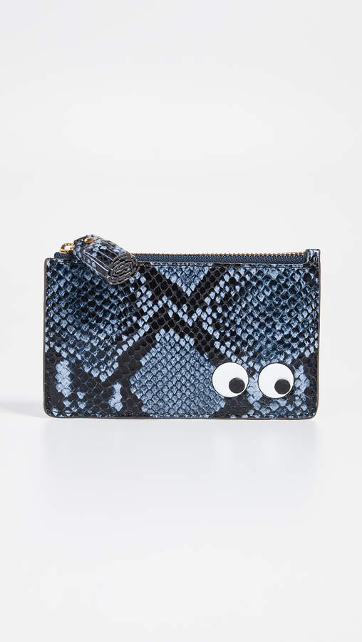 Anya Hindmarch Eyes Zip Card Case