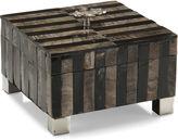 John-Richard Collection 8 Bone Inlay Box, Natural Brown