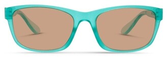 Dresden Vision Ice Blue UV Protected Sunglasses with Brown Tint Artic