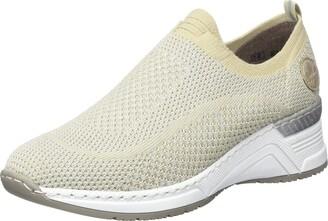 Rieker Women's Fruhjahr/Sommer N4374 Low-Top Sneakers