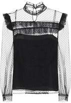 Miu Miu Tulle blouse
