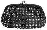Wet Seal WetSeal Studded Clutch Charcoal