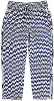 Scotch R'Belle IKAT-INSPIRED CREPE PANTS-BLUE SIZE 6