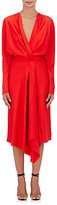 Victoria Beckham Women's Crepe Wrap Dress-RED