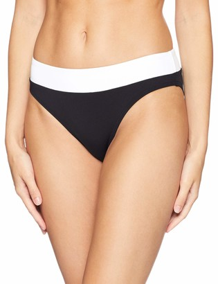 Jets Women's Classique Banded Bikini Bottom Swimsuit