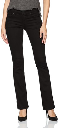 James Jeans Women's Classic Bootcut Jean in Flat Black 26