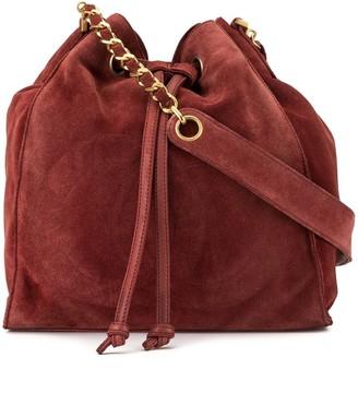Chanel Pre-Owned 1995 CC Stitch bucket bag