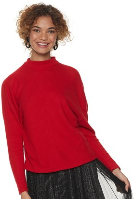 Apt. 9 Women's Mockneck Dolman Sleeve Top