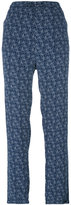 Woolrich printed straight trousers - women - Viscose - S