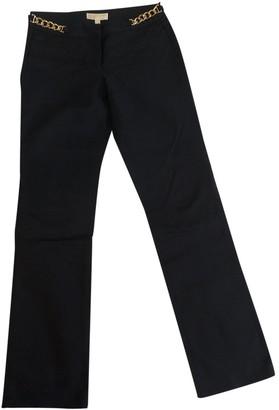 Michael Kors Navy Cotton Trousers