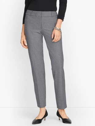Talbots Hampshire Ankle Pants - Houndstooth
