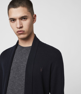 AllSaints Mode Merino Open Cardigan