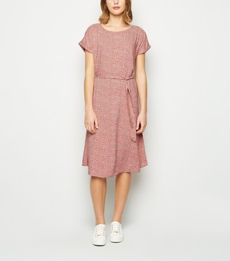 New Look JDY Floral Belted Dress