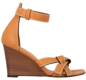 Loewe Gate Wedge sandals
