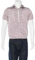 Prada Popover Printed Jacket