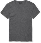 Tom Ford - Mélange Cotton-jersey T-shirt