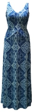 INC International Concepts Inc Ocean Wave Maxi Dress, Created for Macy's