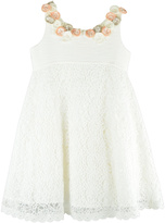 Barcarola White Roses Dress