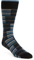 Bugatchi Men's Bugtachi Stripe Socks