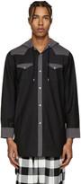 Kidill Black Hooded Western Shirt