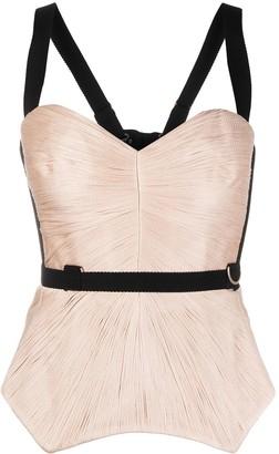 Maria Lucia Hohan Ellis corset-style top
