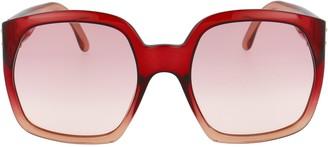 Fendi Eyewear Oversized Frame Sunglasses