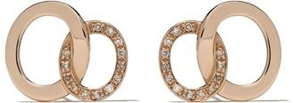 Pomellato 18kt rose gold Brera earrings