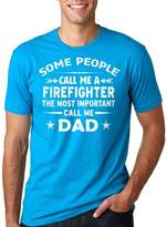 Silk Road Tees Firefighter Dad T-Shirt Gift For Father Tee Shirt