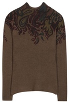 Etro Printed Wool Knitted Sweater