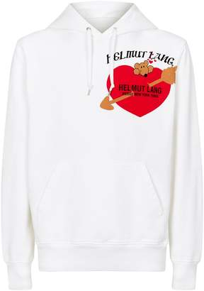 Helmut Lang Cotton Valentine Hoodie
