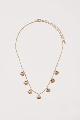 H&M Short Necklace with Pendants - Gold