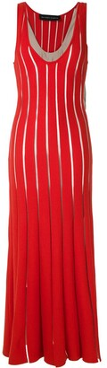 Gloria Coelho panelled knit dress