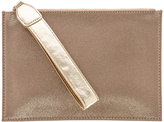 Sondra Roberts Gold Metallic Clutch