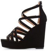 Charlotte Russe Strappy Wedge Sandals