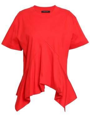 Cédric Charlier Flared Cotton-jersey T-shirt