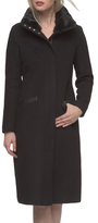 Andrew Marc Claudia Wool Tall Top Coat
