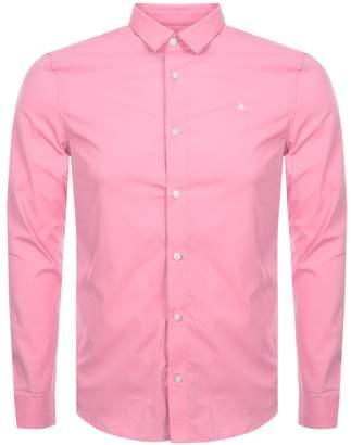 Jack Wills Hinton Stretch Shirt Pink