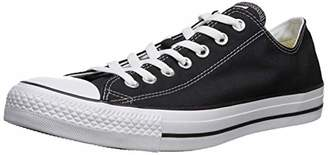 Converse Unisex Chuck Taylor All Star Low Top Black Sneakers - US Men's 8.5 D(M) / US Women's 10.5 B(M)
